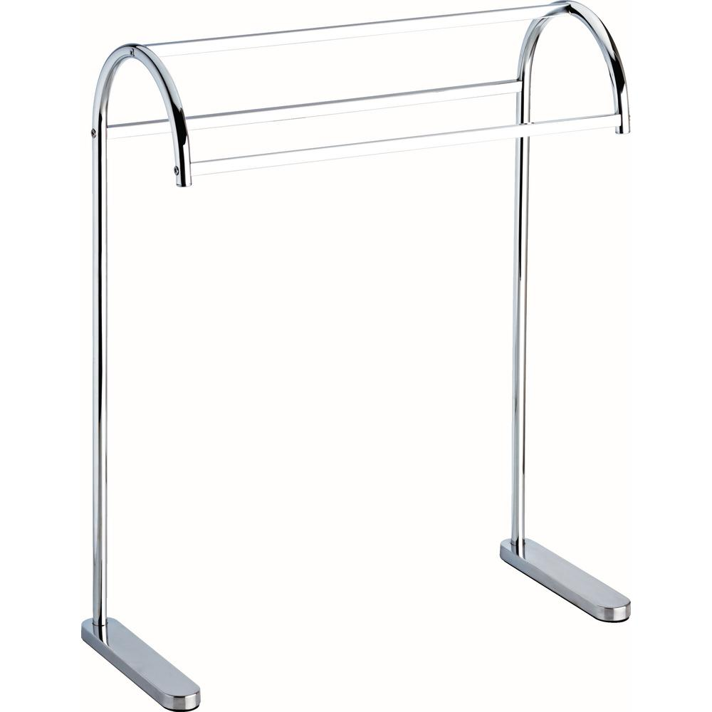 Delta Freestanding Triple Towel Rack in Polished Chrome-FSS01-PC ...