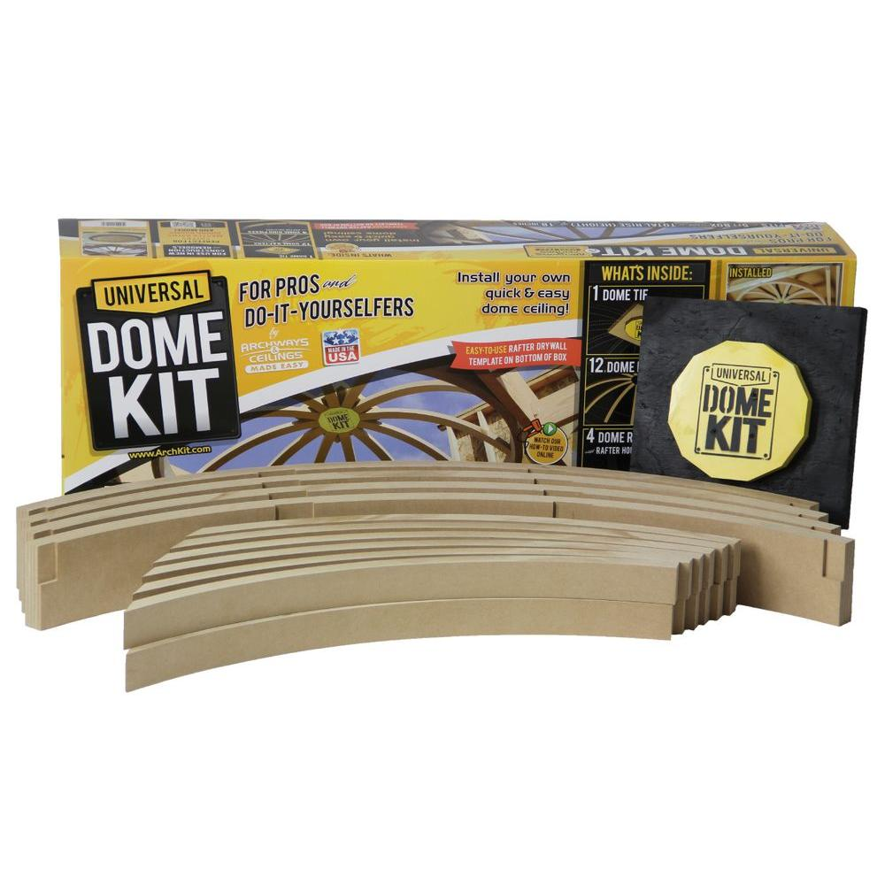 Dome Home Kits: 5 Ft. Prefabricated Framing Dome Kit-UDK