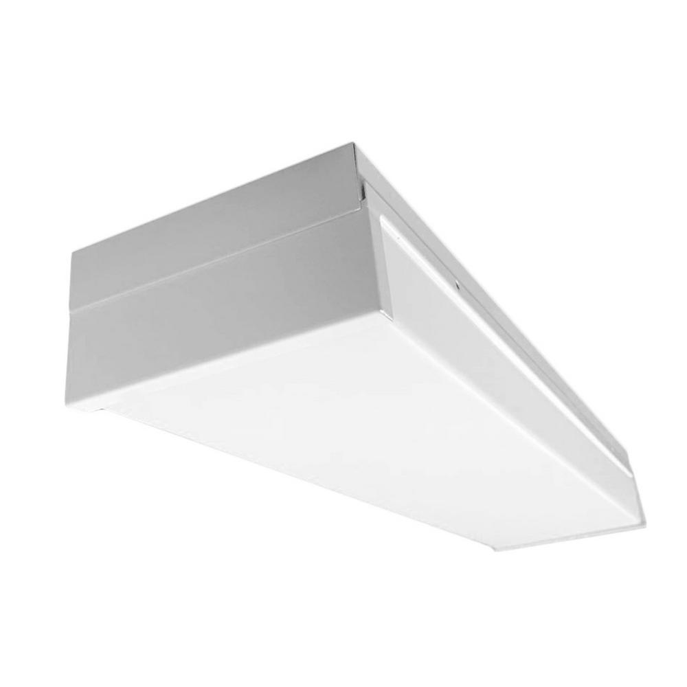 150-Watt Equivalent White Integrated LED Ceiling Flushmount in 4000K