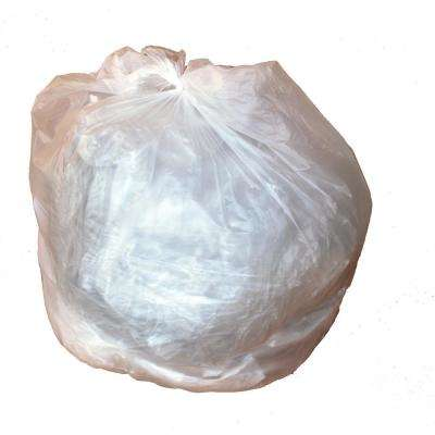 24 in. W x 24 in. H 7-10 Gal. 8 Micron Clear High-Density Bags (1000-Case)