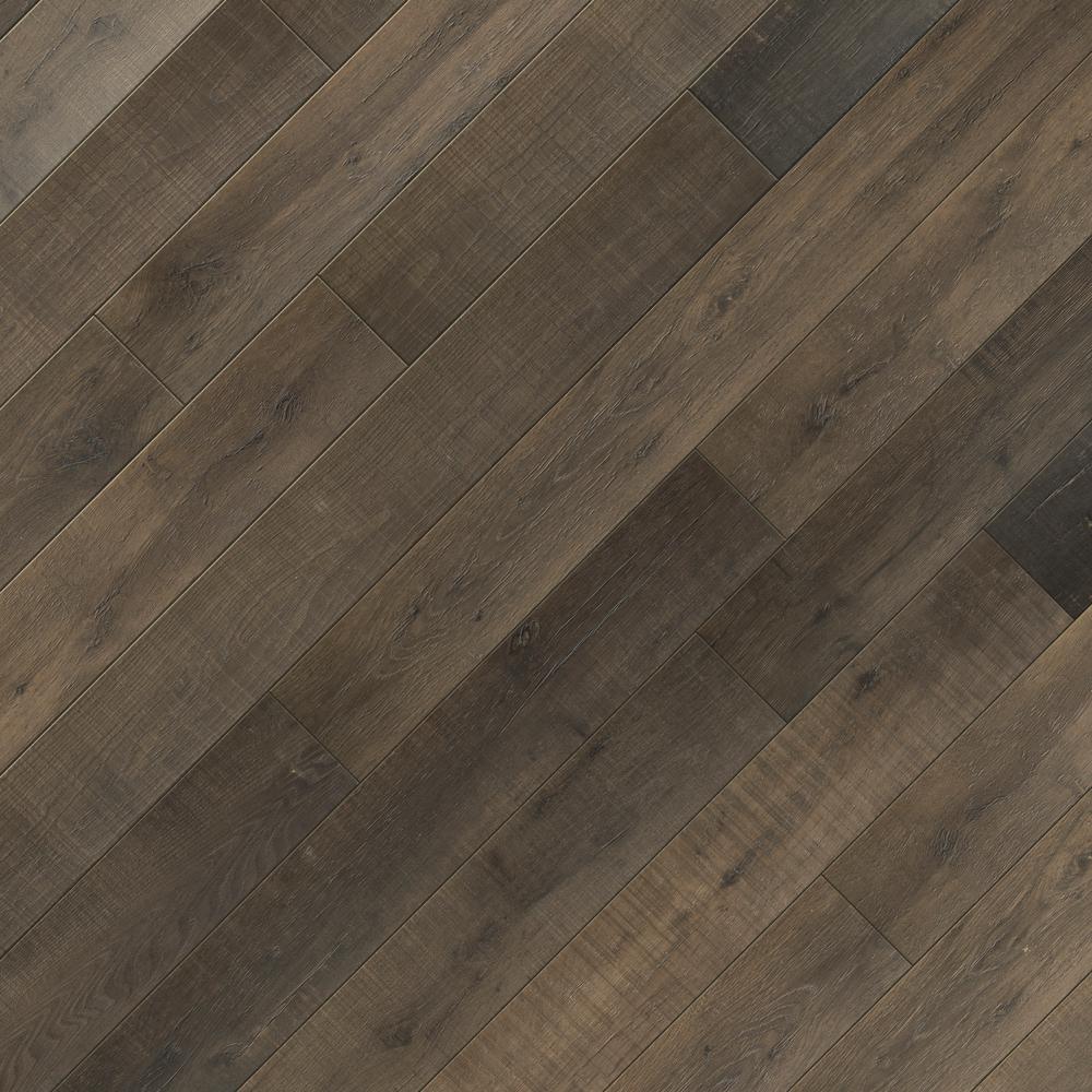 Take Home Sample - EIR Twin Arch Oak Laminate Flooring - 5 in. x 7 in.