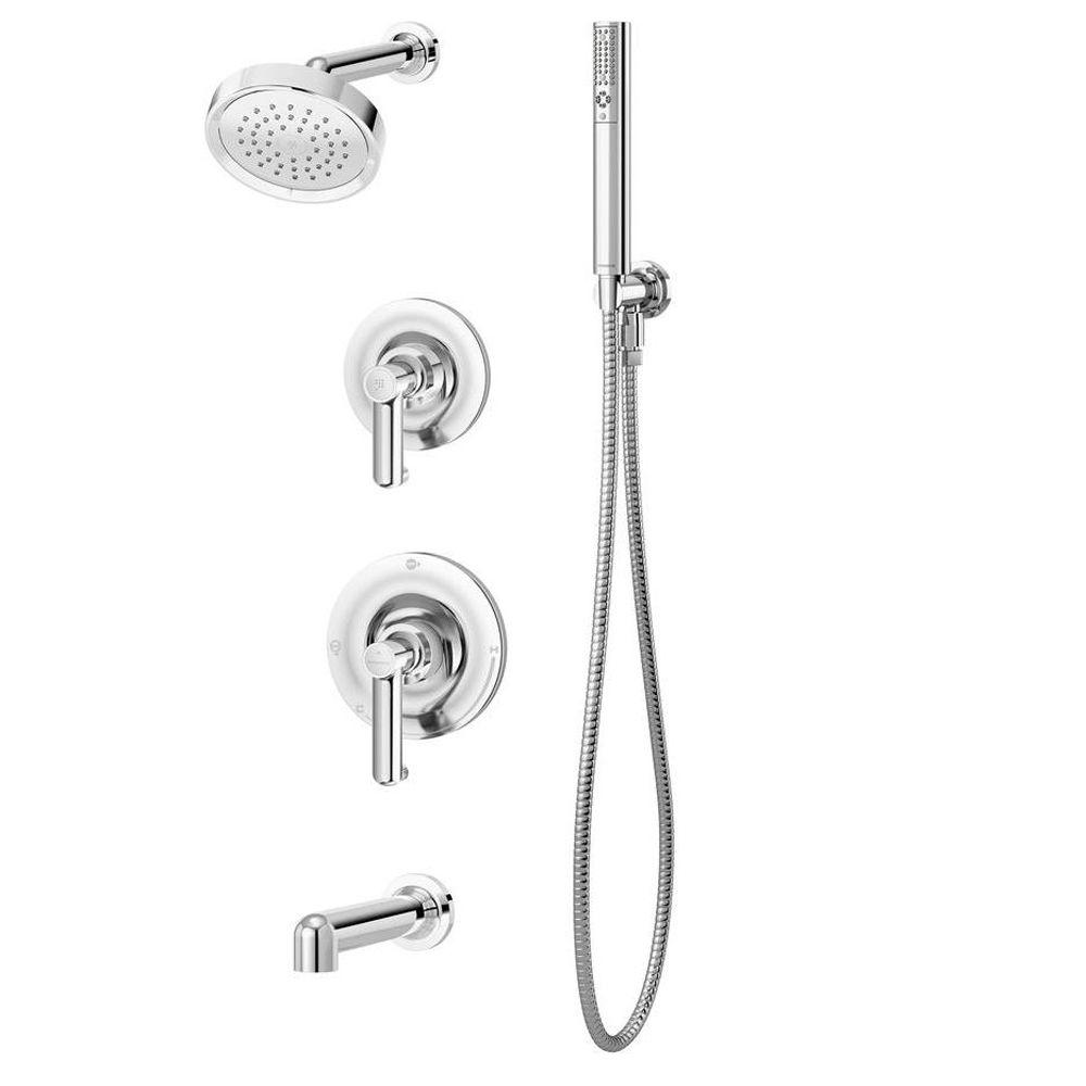 Museo Single-Handle 1-Spray Tub and Shower Faucet in Chrome (Valve Included)