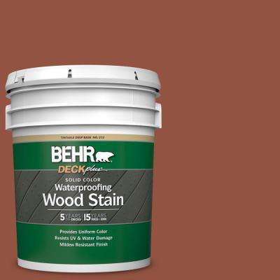 5 gal. #SC-130 California Rustic Solid Color Waterproofing Exterior Wood Stain