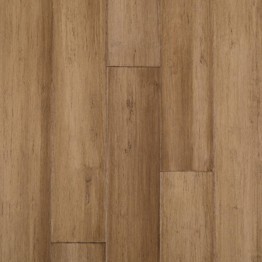 Light Strand Woven 1 2 In Bamboo Flooring Hardwood Flooring