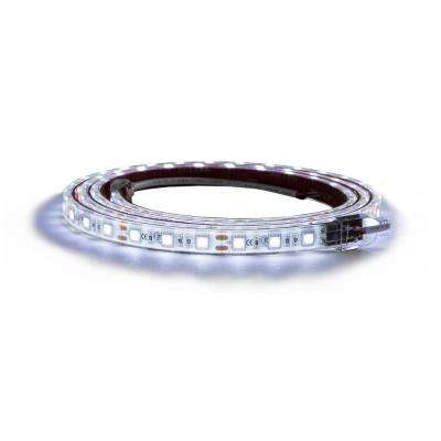 60 in. Clear Cool LED Strip Light with 3M Adhesive Back