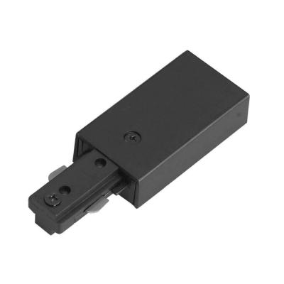 1.5 in. Black Metal Live End Connector