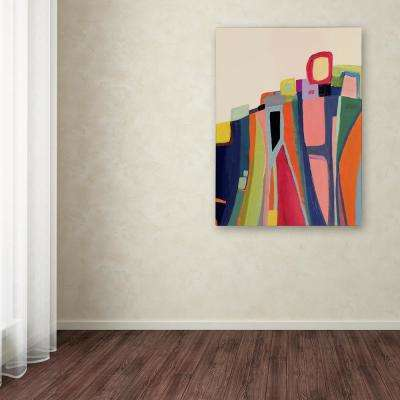 "47 in. x 35 in. ""Falaise"" by Sylvie Demers Printed Canvas Wall Art"