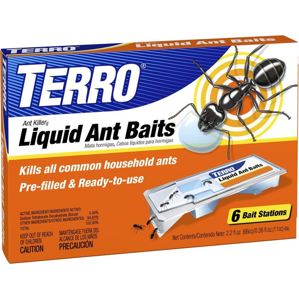 Terro Liquid Ant Killer Bait Stations (6-Pack) by Terro