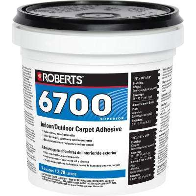 6700 1 Gal. Indoor/Outdoor Carpet and Artificial Turf Adhesive
