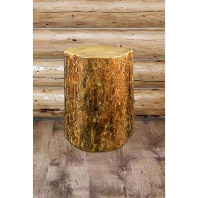 Glacier Country Puritan Pine Contoured End Table
