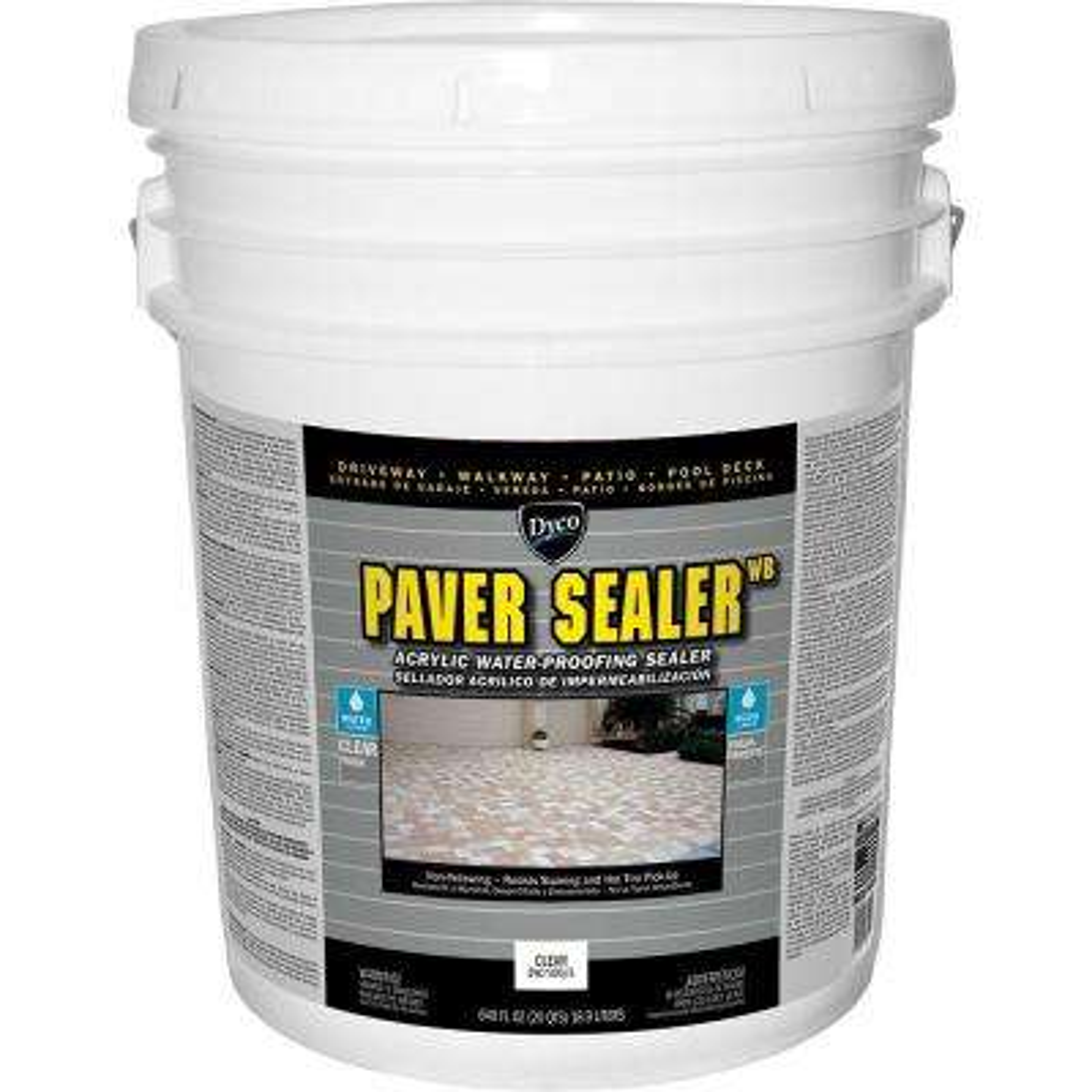 Paver Sealer WB 5 gal. Clear Low Sheen Exterior Concrete Waterproofing Sealer