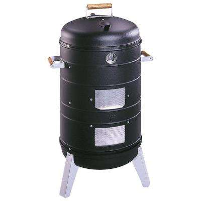 Americana 2-in-1 Charcoal Water Smoker Grill