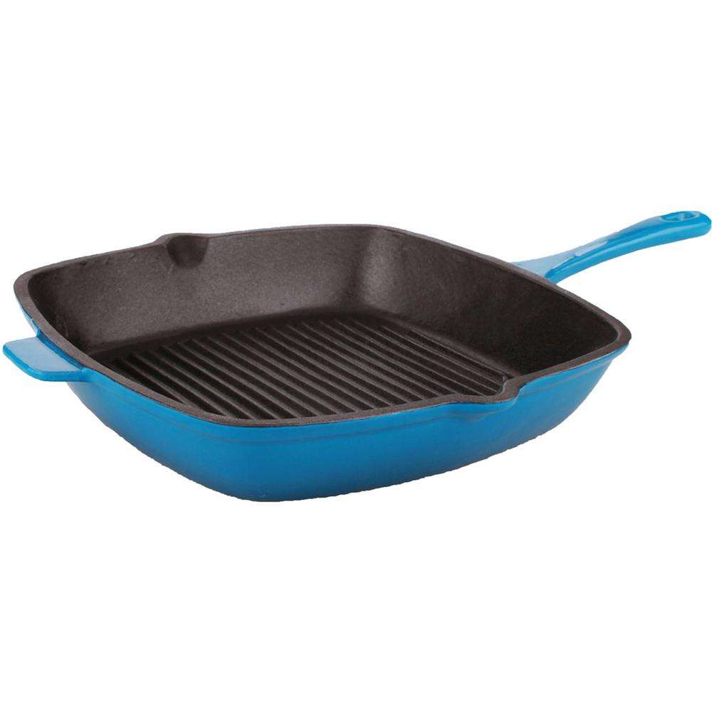 Berghoff International Inc Neo Cast Iron 11 in. Blue Gril...