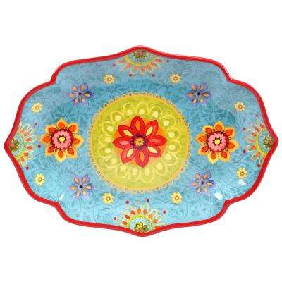 Tunisian Sunset Oval Platter