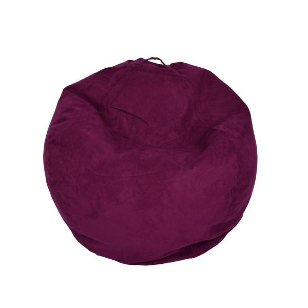 Ace Casual Furniture Purple Microsuede Bean Bag 9801901