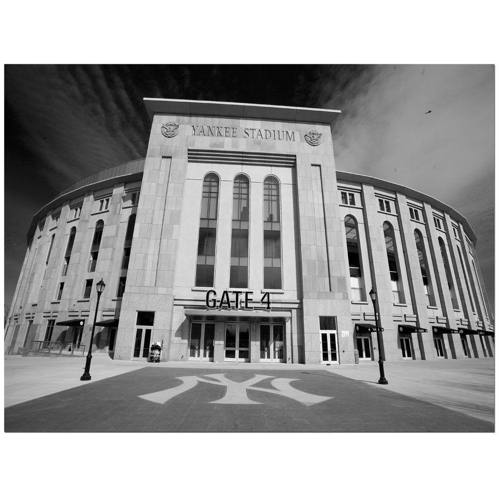 Trademark Fine Art 14 in. x 19 in. The Stadium Canvas Art