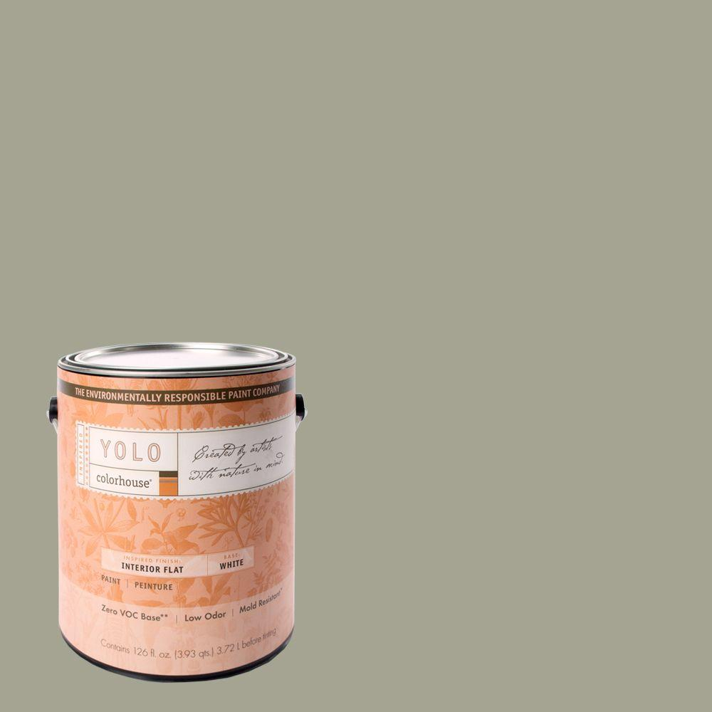 YOLO Colorhouse 1-gal. Nourish .03 Flat Interior Paint-DISCONTINUED