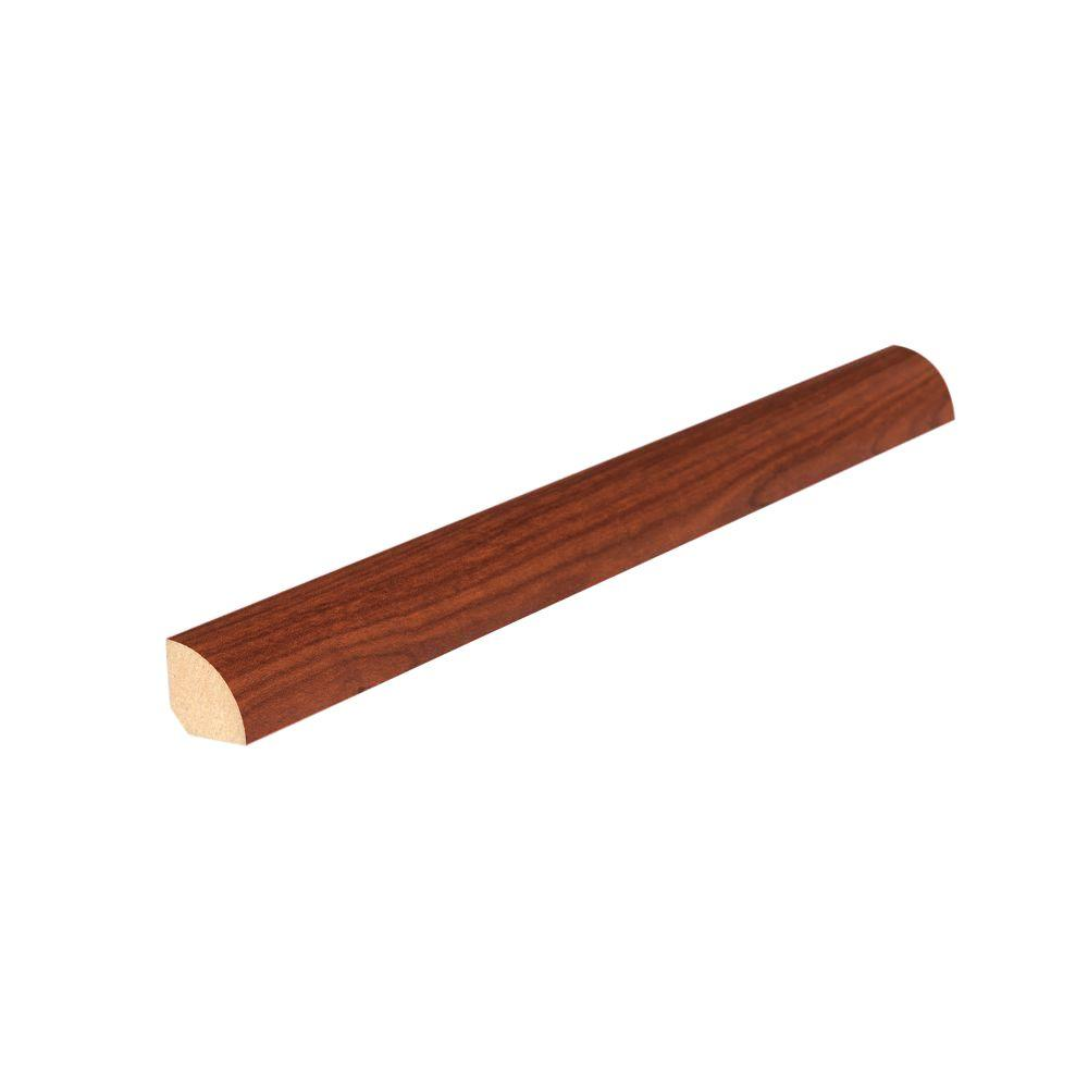 Mohawk Auburn/Russet/Vineyard 3/4 in. Thick x 5/8 in. Wide x 94-1/2 in. Length Laminate Quarter Round Molding