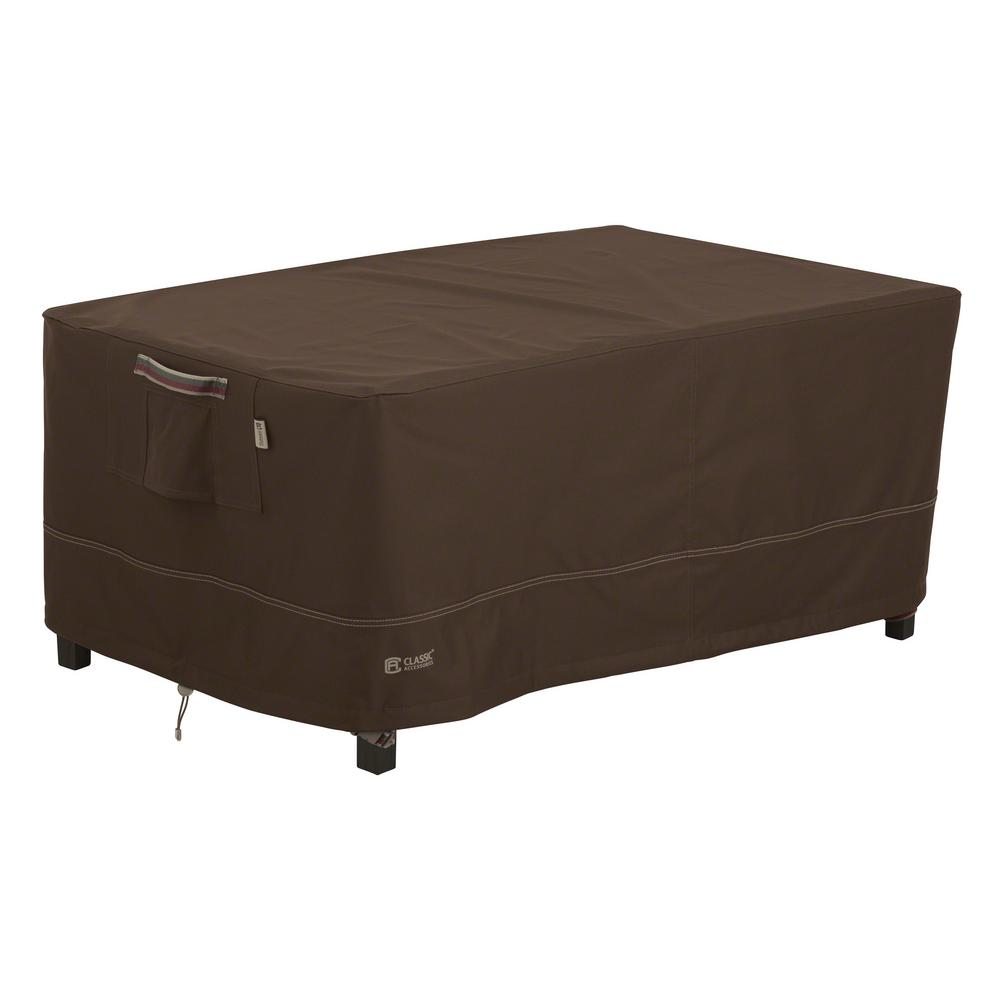 Classic accessories madrona rainproof patio ottoman coffee for Classic furniture products vadodara