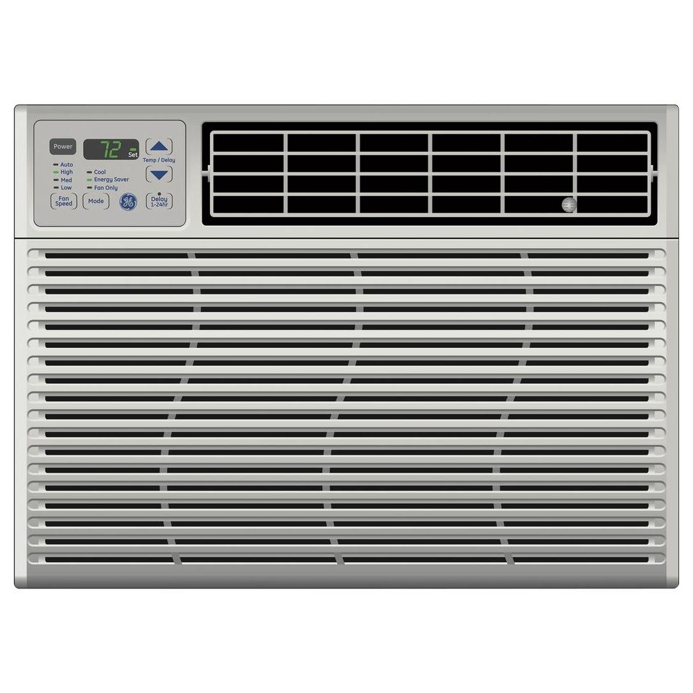 GE 14,200 BTU 115-Volt Electronic Window Air Conditioner with Remote