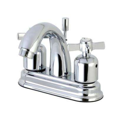 Millennium 4 in. Centerset 2-Handle Bathroom Faucet in Polished Chrome