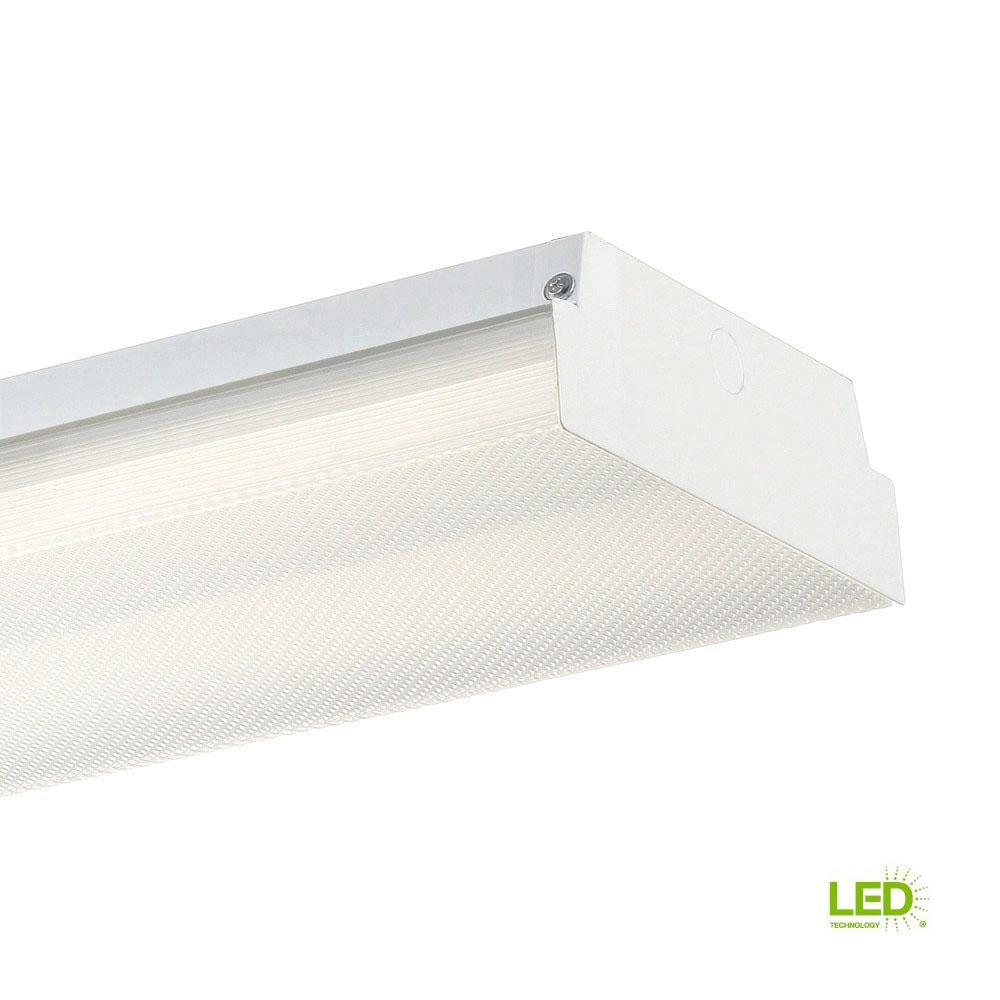 4 ft. White LED Wraparound Ceiling Light