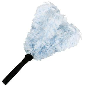 6 in. Microfiber Feather Duster Connect and Clean Locking System