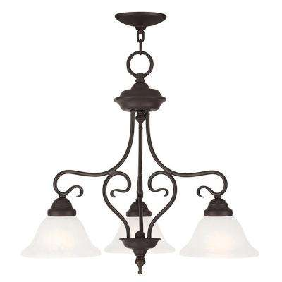 Coronado 3-Light Bronze Pendant