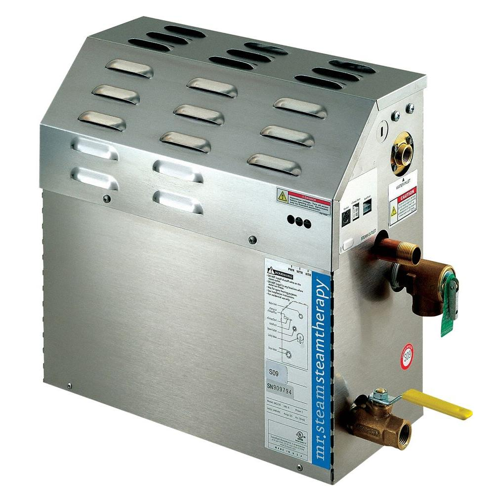 mr. steam eseries 6kw steam bath generator-ms150ec1 - the home depot