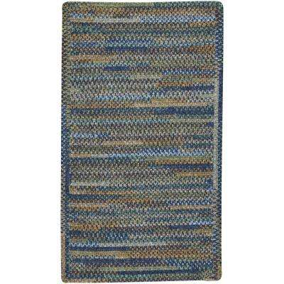 Habitat Ocean Blue 4 ft. x 6 ft. Cross Sewn Area Rug