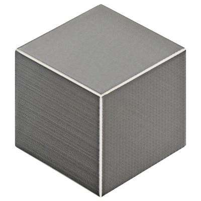 Concret Rombo Vigeland 8-7/8 in. x 10-1/8 in. Porcelain Floor and Wall Tile