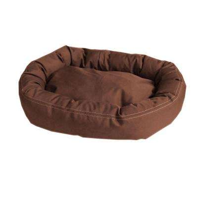 Brutus Tuff Comfy Cup Medium Chocolate Bed