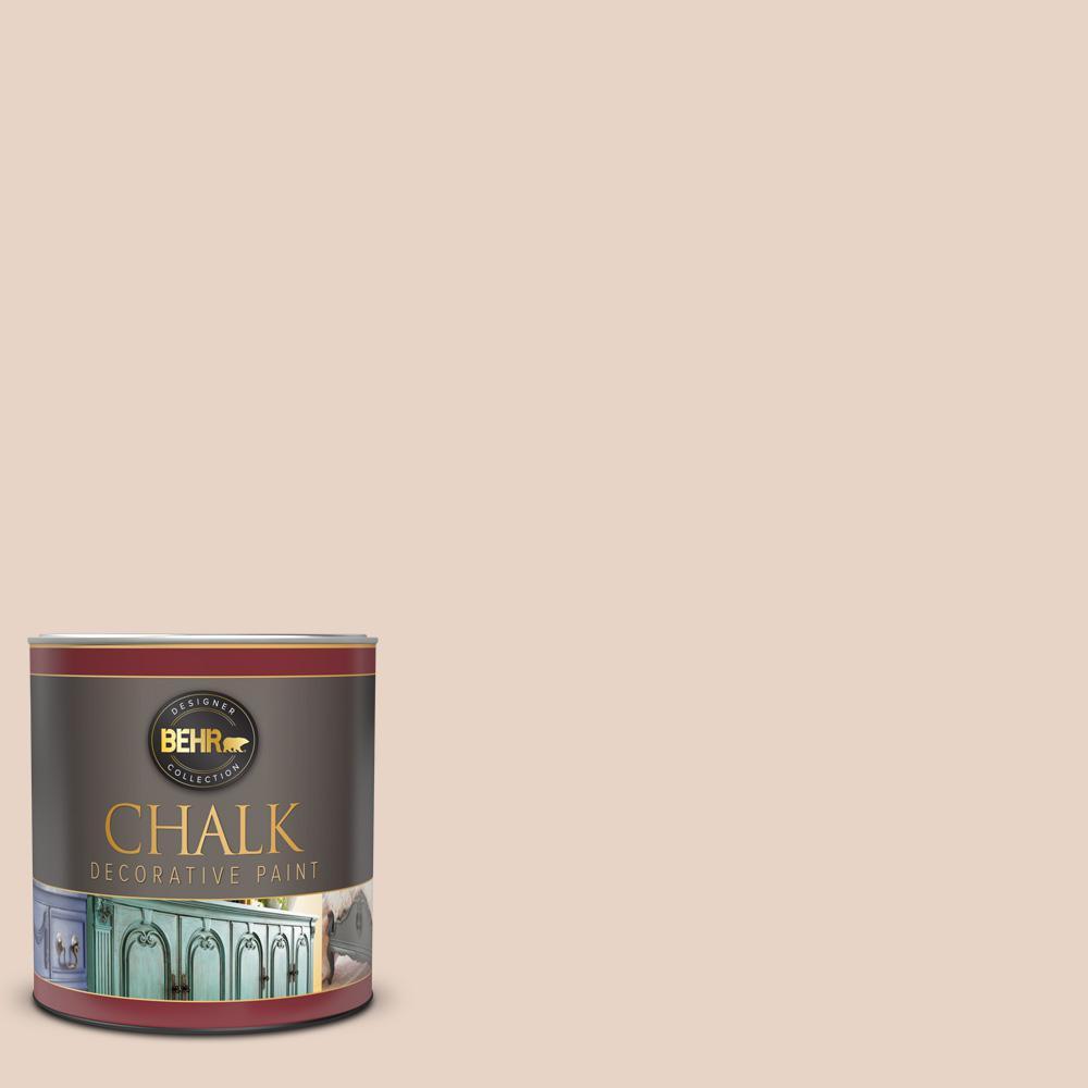 BEHR 1 qt. #BCP02 Miniature Rose Interior Chalk Decorative Paint
