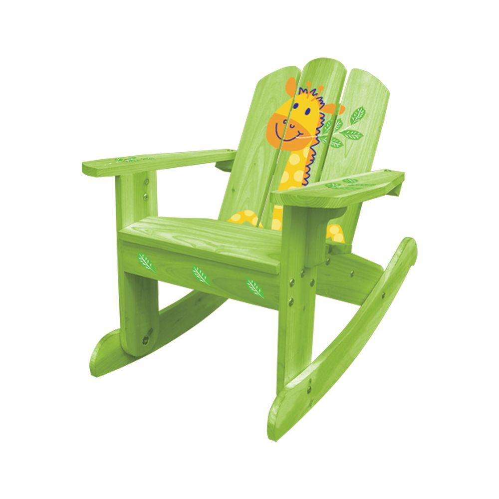 Lohasrus Kids Green Rocking Chair