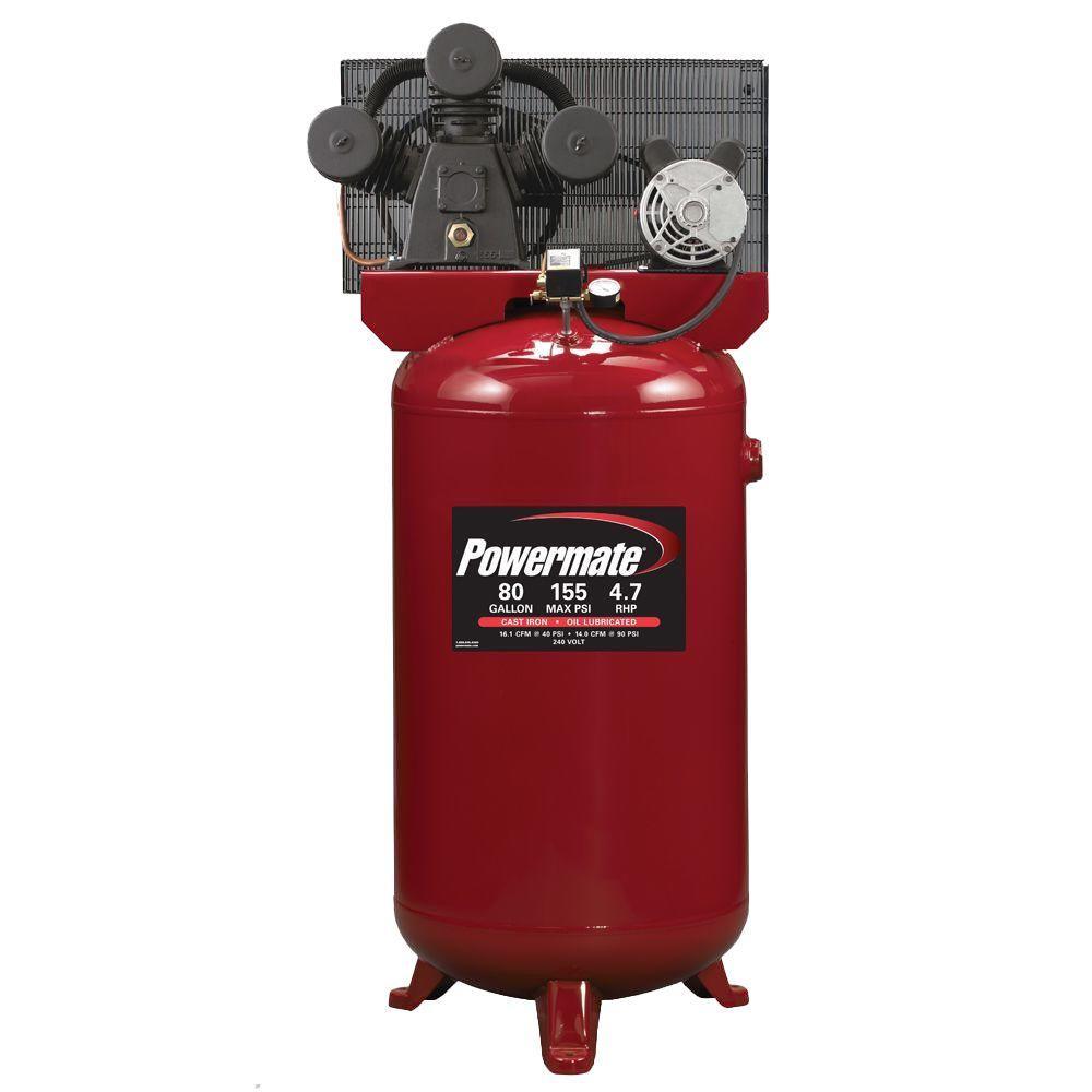 Powermate 80 Gal. Stationary Electric Air Compressor