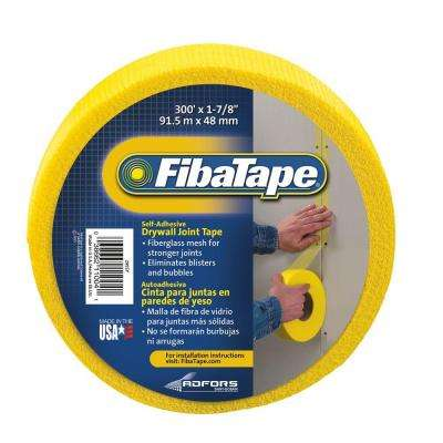 FibaTape 1-7/8 in. x 300 ft. Yellow Self-Adhesive Mesh Drywall Joint Tape