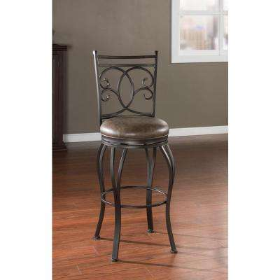 Nadia 26 in. Coco Cushioned Bar Stool
