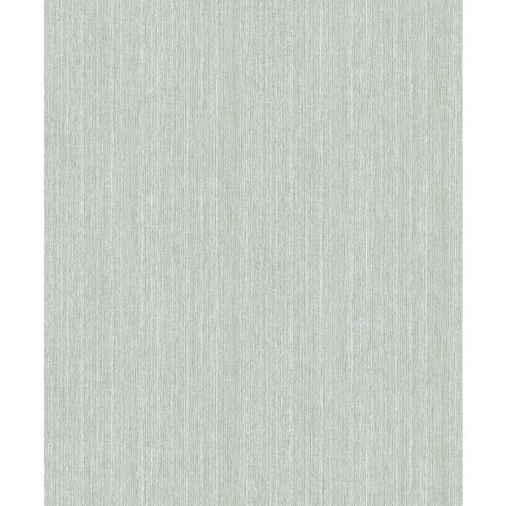 57.8 sq. ft. Christabel Sage Stria Wallpaper