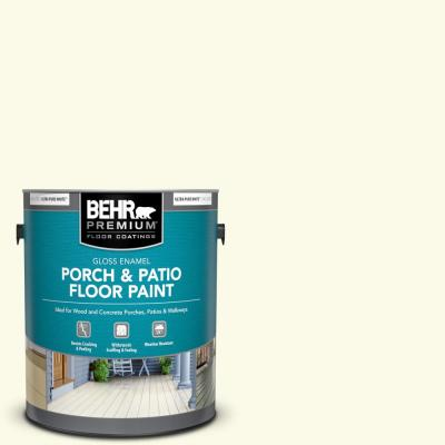 Behr Premium 1 Gal Bxc 86 Elderflower Gloss Enamel Interior Exterior Porch And Patio Floor Paint 670501 The Home Depot