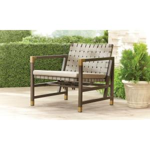 Form Patio Motion Lounge Chair in Sparrow -- STOCK