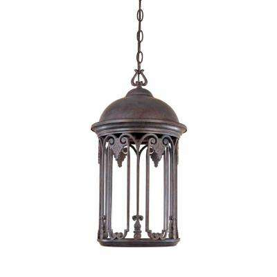 Clearance outdoor ceiling lighting outdoor lighting the home depot old bronze outdoor hanging light aloadofball Gallery