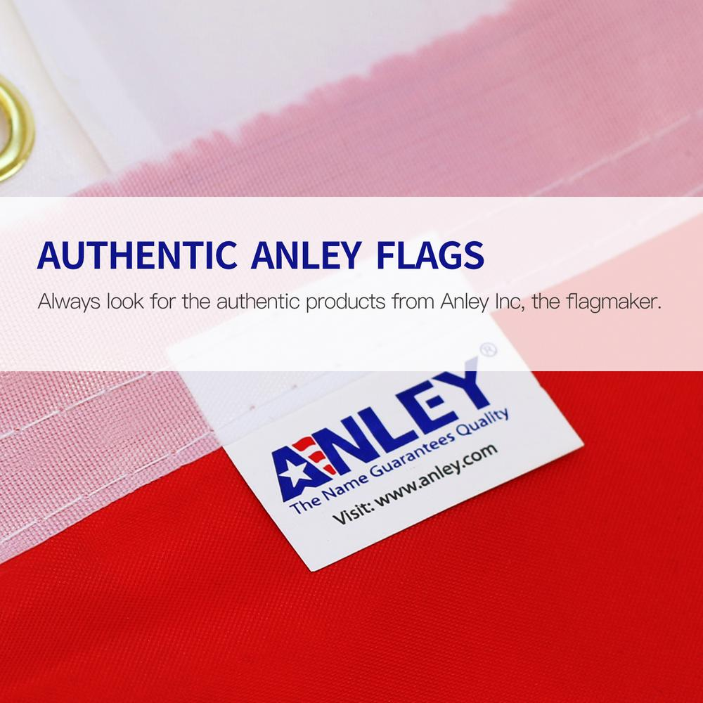 ANLEY Fly Breeze 3 ft  x 5 ft  Polyester Jolly Roger Flag with Patch Flag  2-Sided Banner with Brass Grommets and Canvas Header