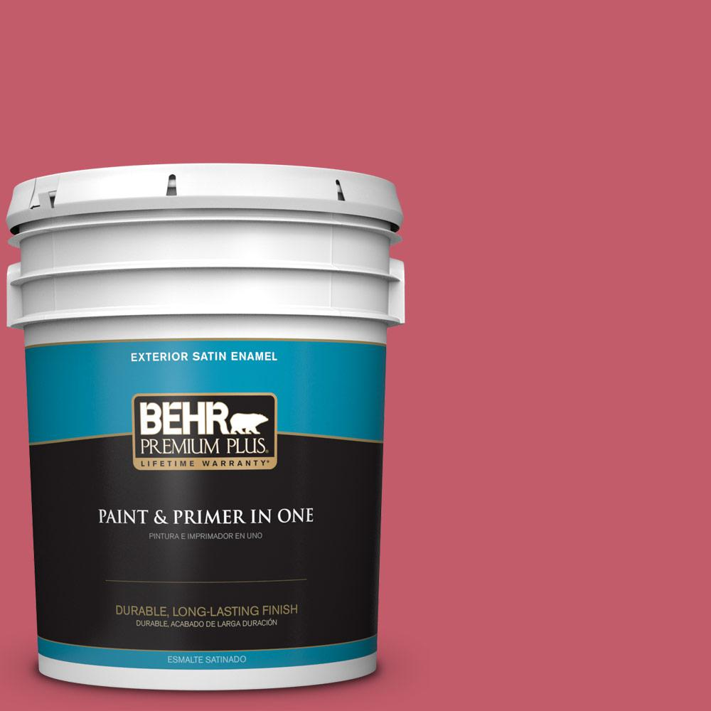 BEHR Premium Plus 5 gal. #PPU18-14 Cathedral Gray Satin Enamel ...