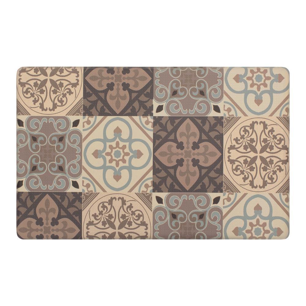 "32/"" x 19/"" Black Rooster Print Floral Pattern Kitchen Rug Carpet Chef Floor Mat"