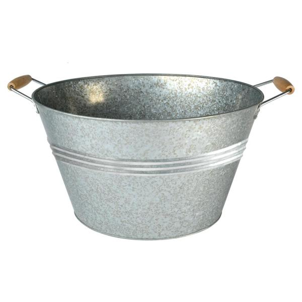 20 Gal. Galvanized Party Tub with Handles 10370A