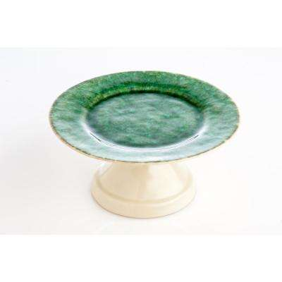Bali Footed Cake Plate