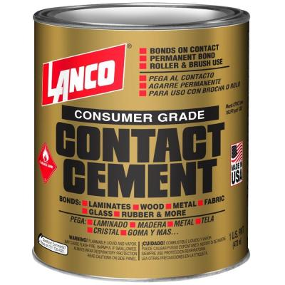 DAP Weldwood 1 Gal  Non-Flamable Contact Cement-203898 - The