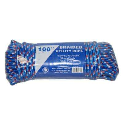 5/8 in. X 100 in. Braided Utility Rope