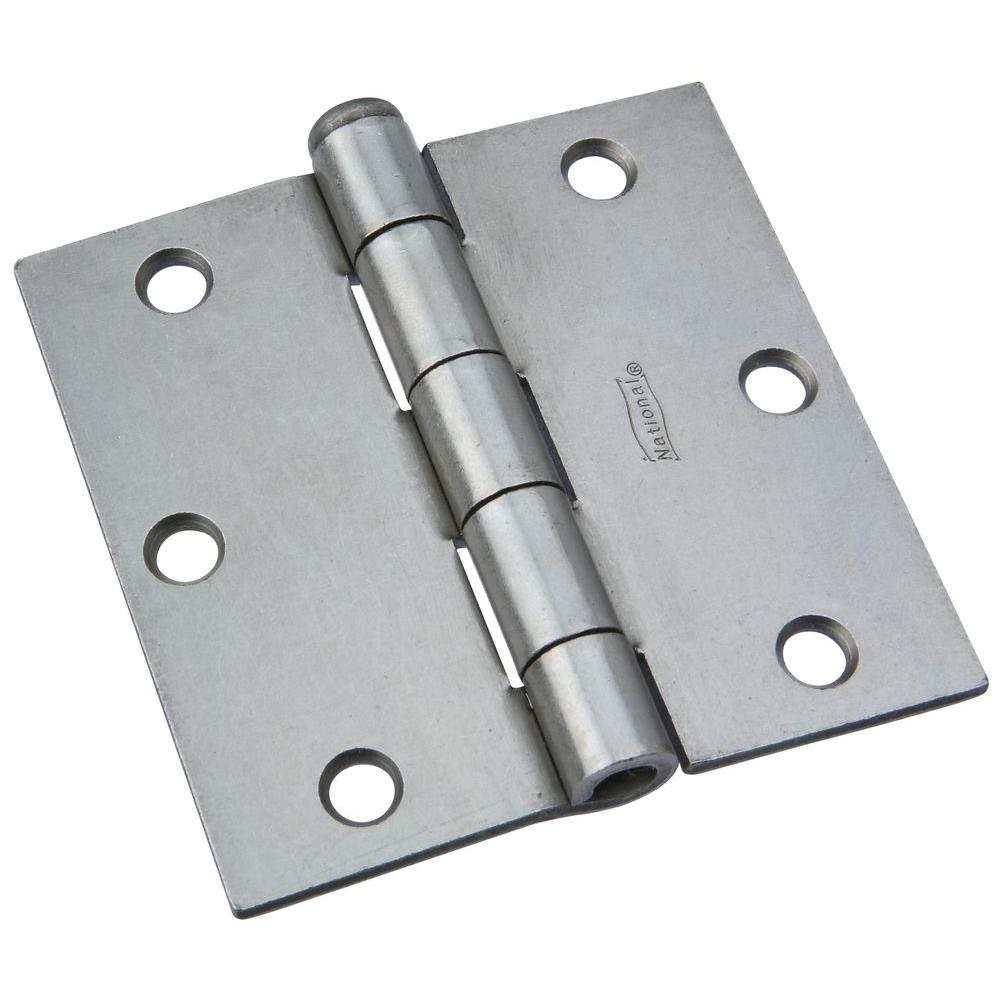 National Hardware 3-1/2 in. Removable Pin Broad Hinge-DISCONTINUED
