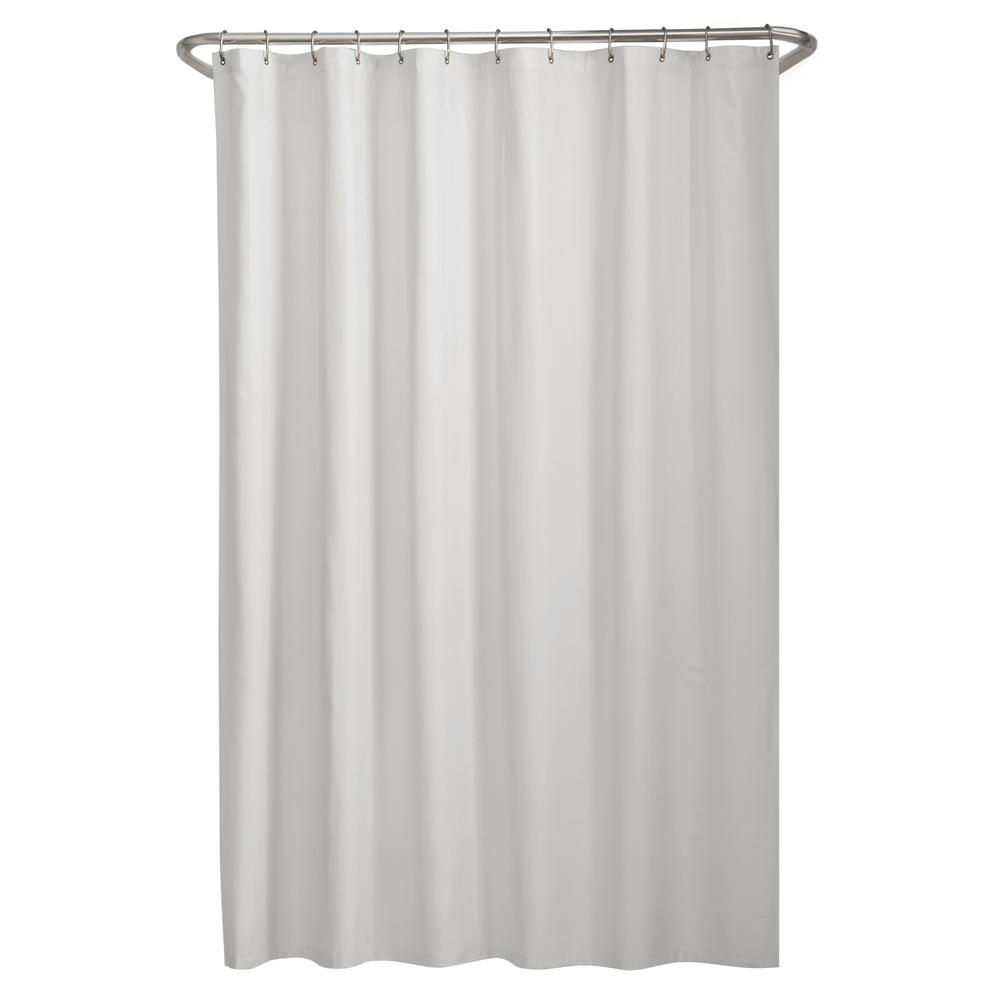 "Water Repellent Vinyl Shower Curtain Liner with Metal Grommets /& Magnets 70/""X72/"""